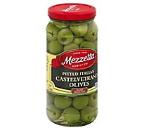Mezzetta Olives Italian Castelvetrano Pitted - 8 Oz