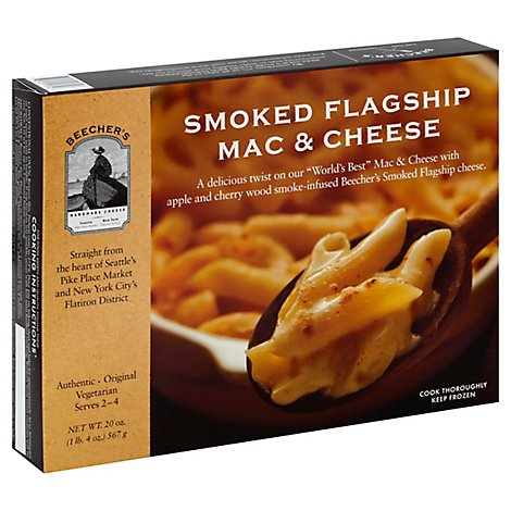 Beechers Frozen Meal Mac & Cheese Smoked Flagship - 20 Oz