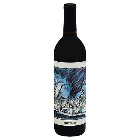 Force Of Nature Zinfandel Wine - 750 Ml