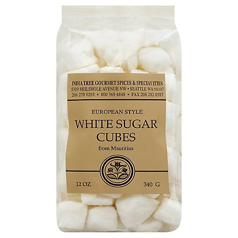 India Tree Sugar Cube White - 12 Oz