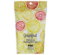 Grapefruit Bubbling Bath Salts - 12 Oz