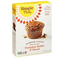 Simple Mills Almond Flour Mix Pumpkin Muffin - 9 Oz