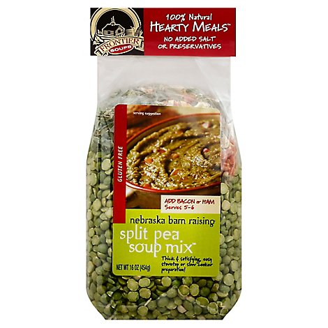 Frontier Soups Hearty Meals Soup Mix Gluten Free Split Pea - 16 Oz