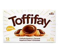 Toffifay Hazelnut In Caramel Chocolate 12 Count - 3.5 Oz