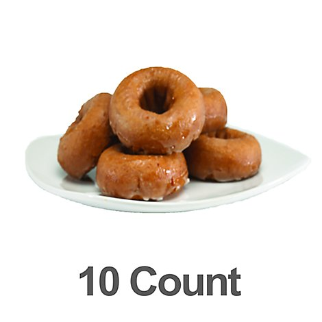 Bakery Donut Cake Pumpkin 10 Count - Each