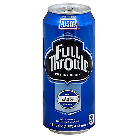 Full Throttle Energy Drink Blue Agave - 16 Fl. Oz.