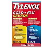 Tylenol Cold Flu Severe Cplt - 24 Count
