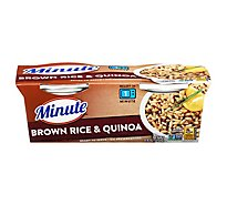 Minute Ready to Serve! Rice Microwaveable Brown Rice & Quinoa Cup - 8.8 Oz