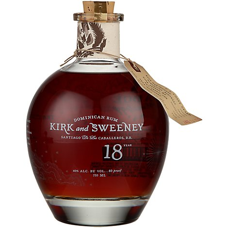 Kirk And Sweeney Dominican Rum 18 Year - 750 Ml