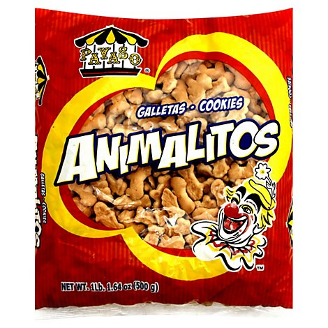 Payaso Cookies Animalitos Pack - 17.64 Oz