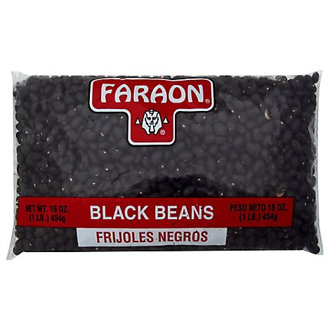 Faraon Beans Black Pack - 16 Oz