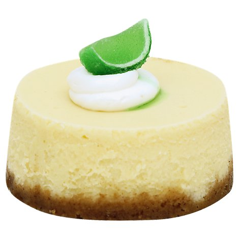 Bakery Cake Cheesecake 3 Inch Lime - Each