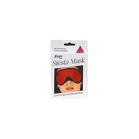 Flents Siesta Mask Reusable Sleep Mask - Each