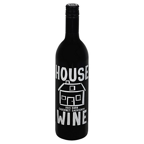House Cabernet Dark Wine - 750 Ml