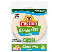 Mission Tortillas Gluten Free Soft Taco Bag Bag 6 Count - 10.6 Oz