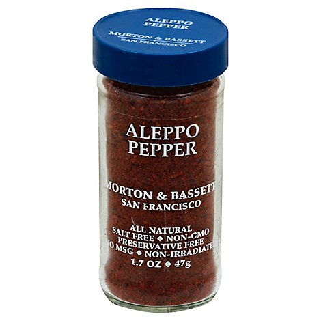 Morton & Bassett Aleppo Pepper - 1.7 Oz