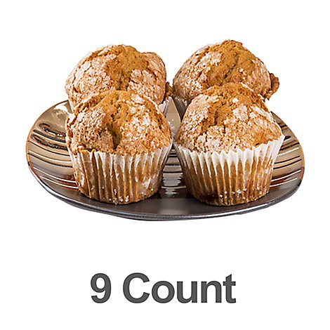 Bakery Muffin Pumpkin 9 Count - Each