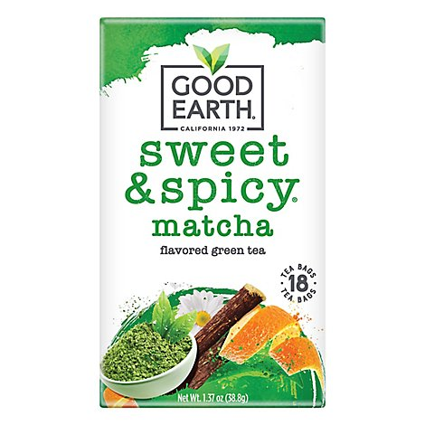 Good Earth Teas Green Tea Matcha Maker - 18 Count