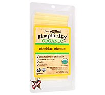 Boars Head Simplicity Per Slice White Cheddar - 5 Oz