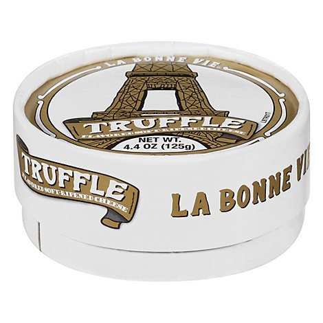 Cheese Truffle Soft Ripened Lbv - 4.4 Oz