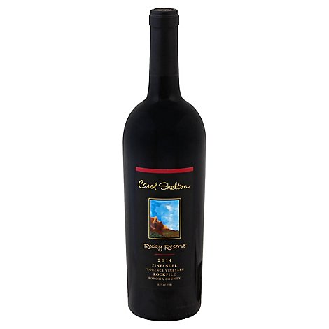 Carol Shelton Rocky Zinfandel Wine - 750 Ml