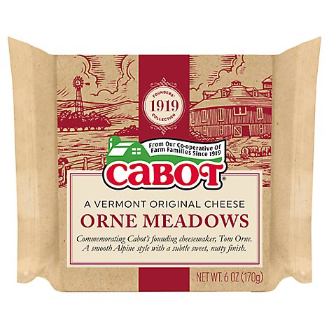 Cabot Creamery Orne Meadows - 6 Oz