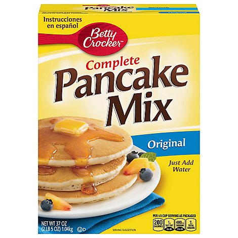 Betty Crocker Bisquick Pancake Mix Complete Original - 37 Oz