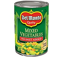 Del Monte Mixed Vegetables No Salt Added - 14.5 Oz
