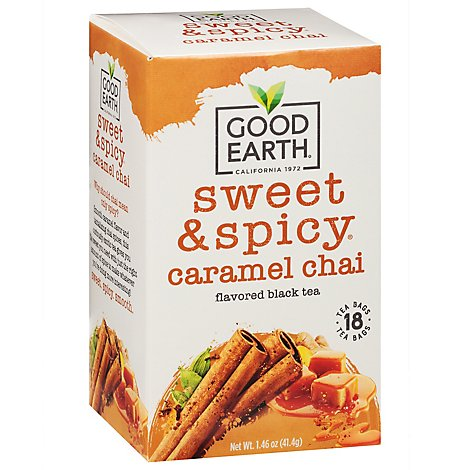Good Earth Teas Sweet & Spicy Chai Tea Wild Chaild 18 Count - 1.46 Oz