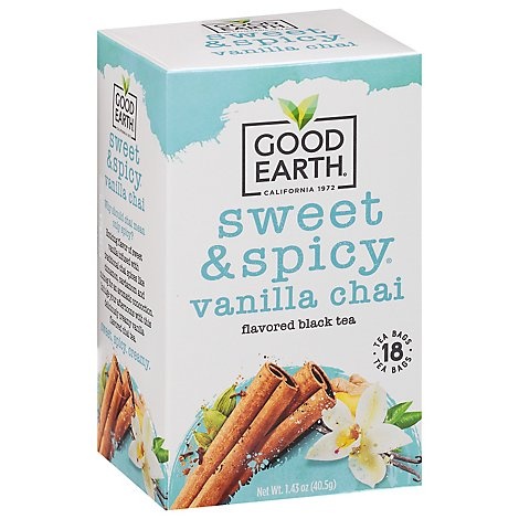 Good Earth Teas Sweet & Spicy Chai Tea Sweet Chai Of Mine 18 Count - 1.46 Oz