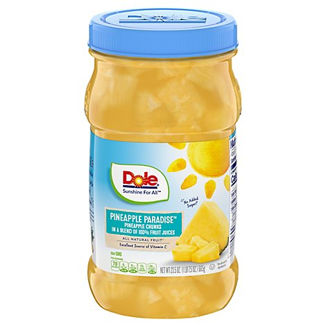 Dole Pineapple Chunks in Pineapple Juice - 23.5 Oz