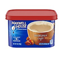 Maxwell House International Beverage Mix Cafe-Style Hazelnut Cafe - 9 Oz