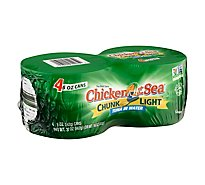 Chicken of the Sea Chunk Light Tuna in Water Chunk Style - 4-5 Oz