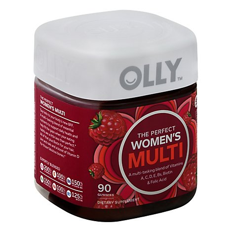 Olly Multi Wmn Blissfl Berry - 90 Count