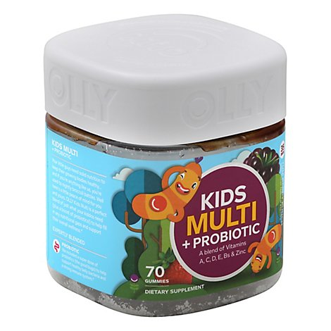 Olly Kids Mlti Probtc Berry - 70 Count