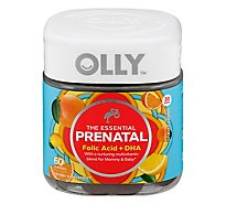 Olly Prenatal Vibrant Orange - 60 Count