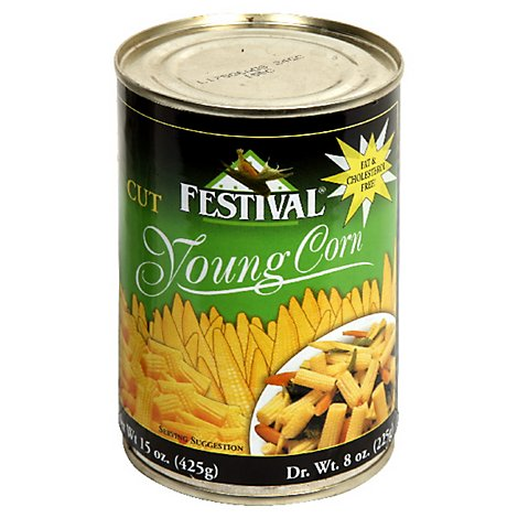FESTIVAL Corn Young Cut - 15 Oz