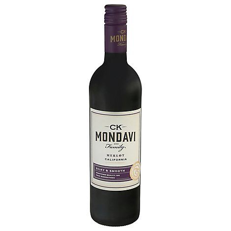CK Mondavi Wine Merlot California - 750 Ml