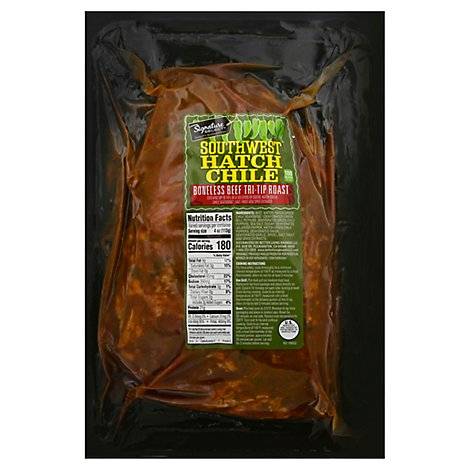 Signature SELECT Beef Sirloin TriTip Roast Southwest Hatch Chili - 1 Lb