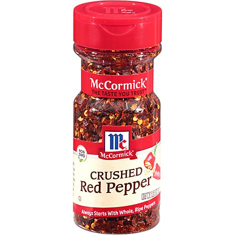 McCormick Red Pepper Crushed - 2.62 Oz