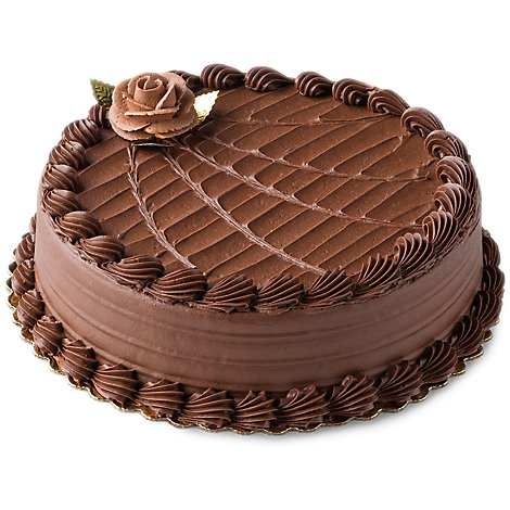 Bakery Cake Chocolate Single Layer Ad - Each