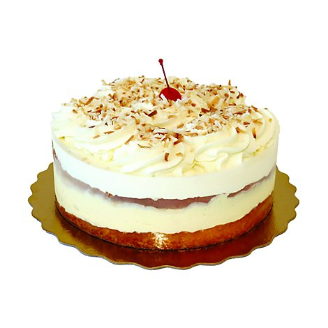 Bakery Cake Coconut Single Layer Ad - Each