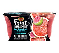 Del Monte Fruit Refreshers Red Grapefruit in Guava Fruit Water Cups - 2-7 Oz