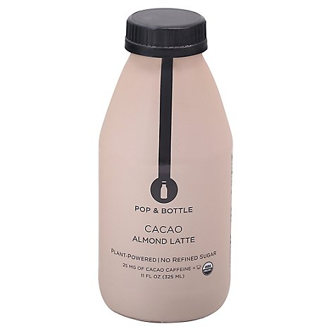 Pop And Bottle Almond Milk Cacao - 12 Fl. Oz.