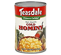 Teasdale Hominy Gold Can - 15 Oz