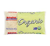 Mahatma Organic Rice White Extra Long Grain - 32 Oz