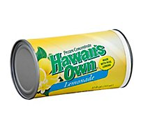 Hawaiis Own Juice Frozen Concentrate Lemonade - 12 Fl. Oz.