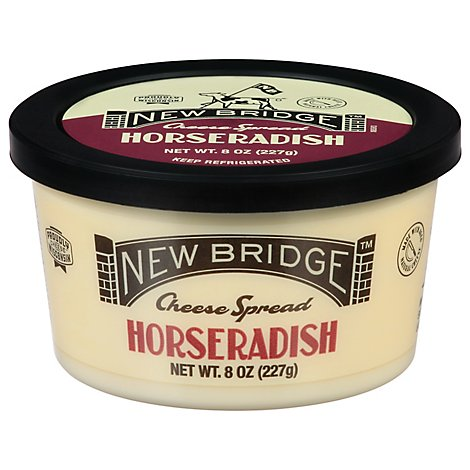 New Bridge Horseradish Flavor Cheese Spread - 8 Oz