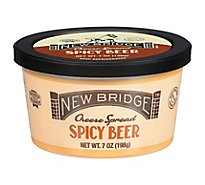 New Bridge Spicy Beer Cheese Spread - 7 Oz