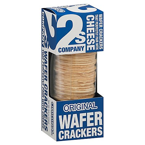 2s Company Cracker Wafer Original - 3.5 Oz